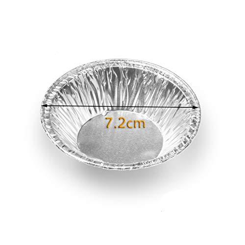 Hilai 230PCS jetable ou Tartelette de No/ël Jam Tart Foil g/âteau Cas de Petit g/âteau g/âteau Biscuit Pudding Moldmakers