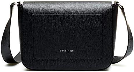 Coccinelle E1FJ5150101001 - Borsa a tracolla Ambrine, colore: Nero