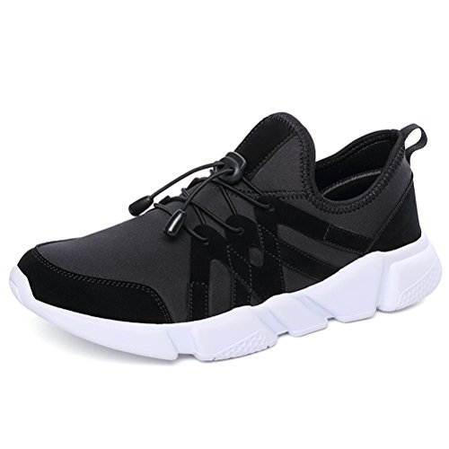 Running Shoes for Men Mens Sneaker Fashion Sports Outdoor Athletic Shoes Trainer Shoe Black