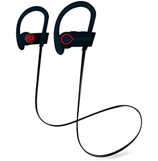 Auriculares Bluetooth 4.1, Auriculares Inalambricos, POOPHUNS Auriculares Bluetooth Deporte, Auriculares Deportivos…