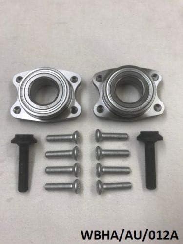 NTY 2 x Front Wheel Bearing Kit A4 RS4 B7 B8 2000-2008// A6 RS6 C5 1997-2005// A8 S8 4D8 1997-2002