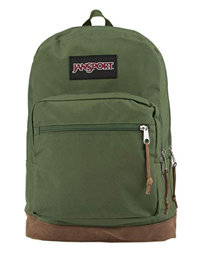 JanSport Digital Carry Right Pack Digital Edition (New Olive Yarn Dye)