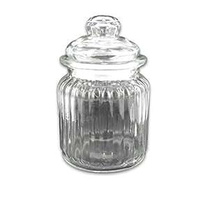 Bulk Buys Glass jar display Case Of 12