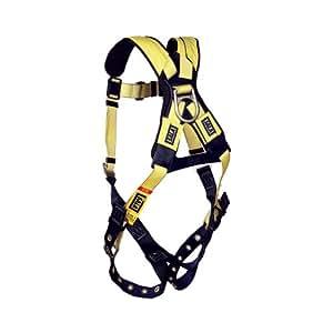 DBI/Sala 1101252 Delta Vest Style Full Body Harness, Extra Large, Navy Blue/Yellow