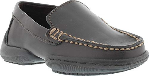 Kenneth Cole Reaction Driving Dime 2 Loafer (Toddler/Little Kid),Dark Brown,10 M US Toddler