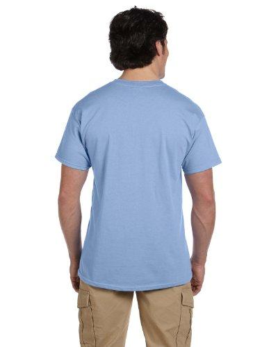 lend EcoSmart T-Shirt, Light Blue, Medium, (Pack of 3) ()