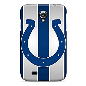 Perfect Hard Phone Cases For Samsung Galaxy S4 With Allow Personal Design Trendy Indianapolis Colts Pattern JamieBratt