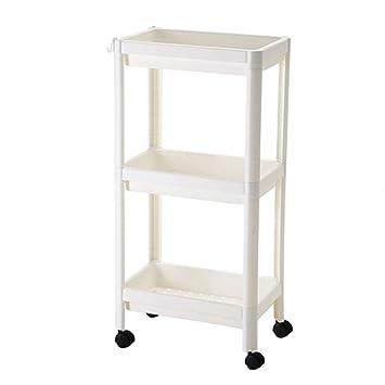 Amazon.com: 3-Tier Storage Shelves Narrow Kitchen Storage ...