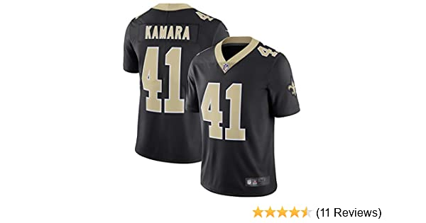 15f64bf44 Amazon.com : Mitchell & Ness Men's NFL Alvin Kamara New Orleans Saints #41  Jersey : Sports & Outdoors