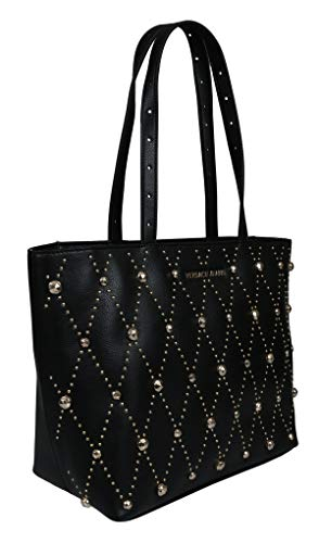 Versace EE1VTBBE1 E899 Black Tote Bag for Womens (Versace Tote)