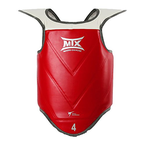 Mooto Korea Taekwondo MTX Chest Guards Reversible Protector WTF Approved Blue/Red MMA Martial Arts Karate Hapkido UFC…
