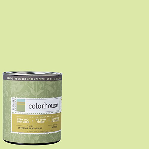 Inspired Semi-Gloss Interior Paint, Sprout .05, Quart