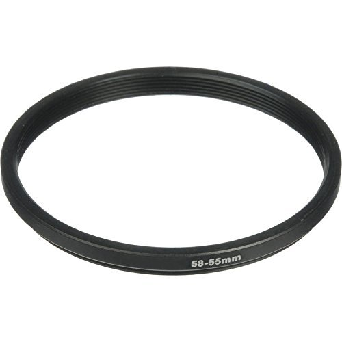 Phot-R 58-55mm Black Aluminium