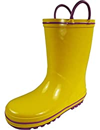 Amazon.com: Yellow - Rain Boots / Outdoor: Clothing, Shoes & Jewelry