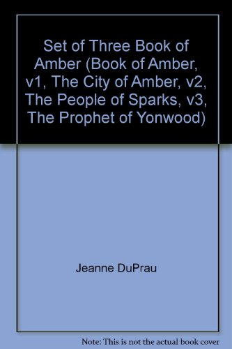 Set of  Books of Ember 1-3 The City of Ember,  The People of Sparks, The Prophet of Yonwood) (The City Of Ember The Prophet Of Yonwood)