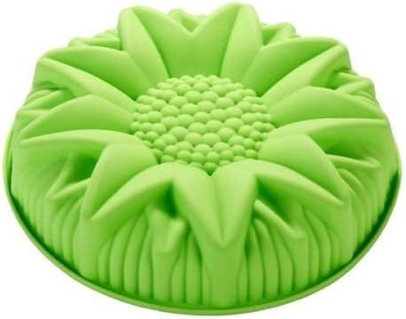 Admirable Amazon Com Happy Baking Silicone Mold 10 Sunflower Birthday Cake Birthday Cards Printable Trancafe Filternl