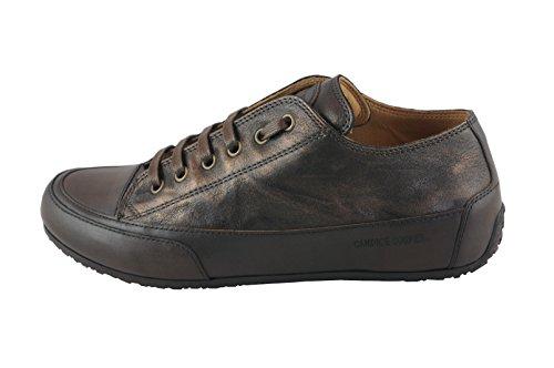 Candice Cooper Rock 02 Mocca (Metallic) Palmares (Kalbleder) Base Testa Moro Damen Sneaker mocca metallic (Base: testa moro)