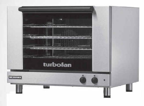 "Moffat E28M4 - 32"" Turbofan Electric Convection Oven - 4 Full Size Pan Capacity"
