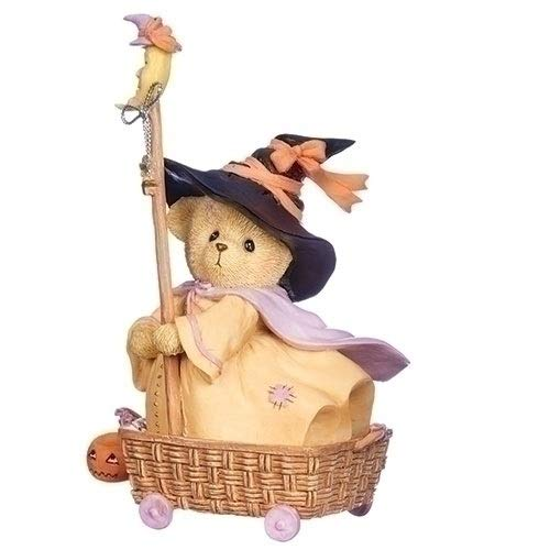 Roman 4.5 Inches Wheel Basket Halloween Diana Cherished