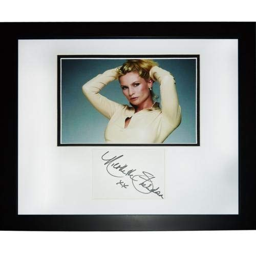 Nicolette Sheridan Autographed Signed Auto Desperate Housewives TV Signature Series Frame - Certified Authentic ()