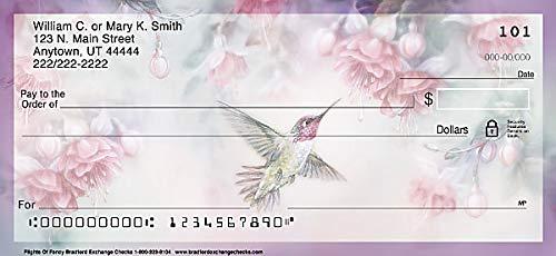 Hummingbirds Top Tear Value Priced Personal Checks 1 Box of Duplicates, Qty. 100