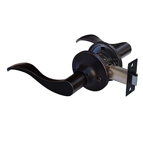 Lever Set Oil Rubbed Bronze - Constructor CON2884 Passage Lever Door Prelude Handle Lock Set, Oil Rubbed Bronze