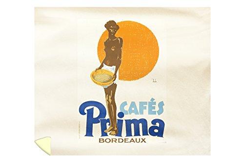 Cafes Prima Vintage Poster (Artist: Dryden, Ernst) France c. 1928 65496 (88x104 King Microfiber Duvet Cover)