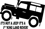 Fun Land Rover TD5 Defender 4x4 Off Road Sticker #3