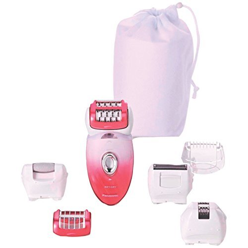 Panasonic(r) Es-Ed90-P Women's Epilator With Shaver Attachments 8.70in. x 7.90in. x 3.20in.