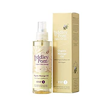Tiddley Pom Bio-Massageöl 150 Ml - Packung mit 6