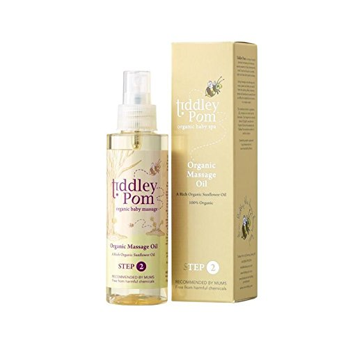 Tiddley Pom Organic Massage Oil 150ml - Pack of 4