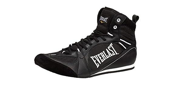 Everlast Boxartikel 8002 Lo Top Boxing Boot Botas Bajas de Boxeo, Unisex Adulto, Negro, 40: Amazon.es: Deportes y aire libre