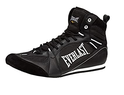 Everlast Boxartikel 8002 Lo Top Boxing Boot Bota Baja de Boxeo, Unisex Adulto, Negro