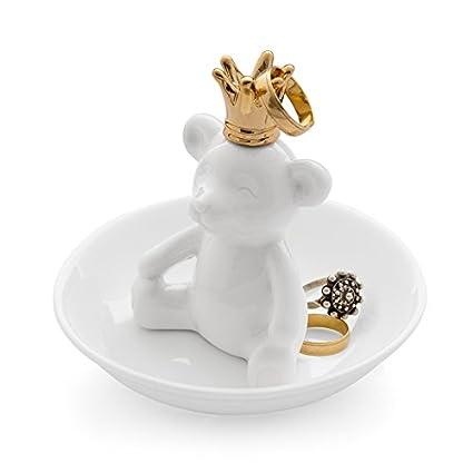 Balvi/-/Porte-bagues/Gatto/XL/en/c/éramique./Plateau/pour/bagues/et/Bijoux./en/c/éramique./en/Forme/de/Chat.