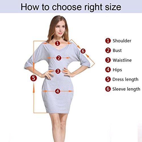 Plus Poche Size Over Tunique Femmes sup Neck Sleeve Tefamore Longue Long V 1wq6Y1RT