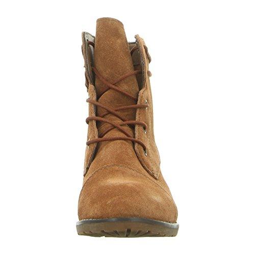 Chukka 078 261 Black Boots Cognac Le Women's 452 Beige q1tw5n5BS