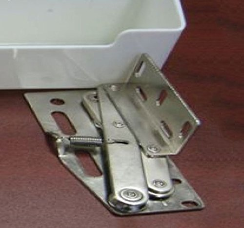 21 Quot Tip Out Sink Front Tray With Hinges White Plastic