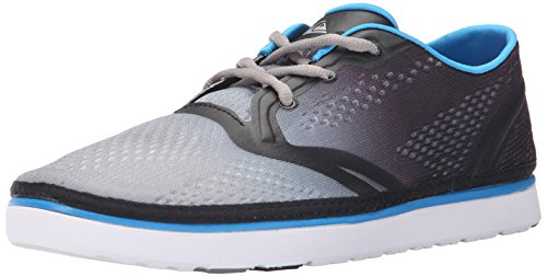 Quiksilver Men's AG47 Amphibian Shoe, Black/White/Blue, 6 M US