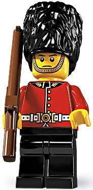 LEGO - Minifigures Series 5 - ROYAL GUARD (Soldier Minifigures Lego)