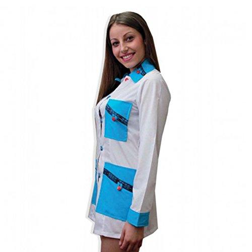 Fratelliditalia Camisas Corto para Mujer Algodón Trabajo coloniali Made in Italy 3 Colores por la XS A XXL: Amazon.es: Deportes y aire libre