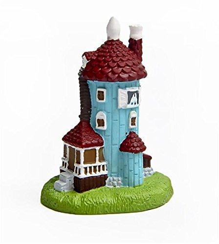 Shalleen Moomin valley Hippo Muumi Snufkin Niiskuneitti DIY lighthouse house Figure (Moomintroll Costume)