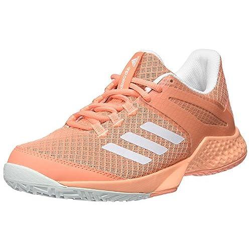 adidas Adizero Club W, Chaussures de Fitness Femme, Bleu Clair