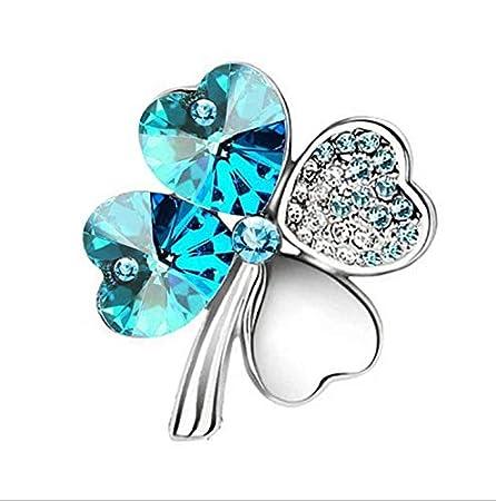 Waymeduo Women Girls Diamond Brooch