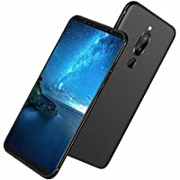 Tarkan Royal Ultra Slim Flexible Soft Back Case Cover for Nokia 5.1 Plus/Nokia 5 Plus [Matte Black] 360 Degree Full Coverage with Camera Protection