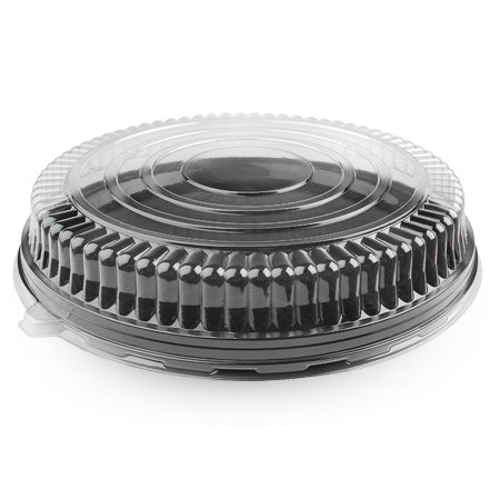 Fineline Dome Lid, Low, 18'' - 25/Cs, Not Applicable