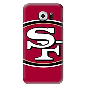 S6 Edge Case, NFL - San Francisco 49ers Large Logo - Samsung Galaxy S6 Edge Case - High Quality PC Case