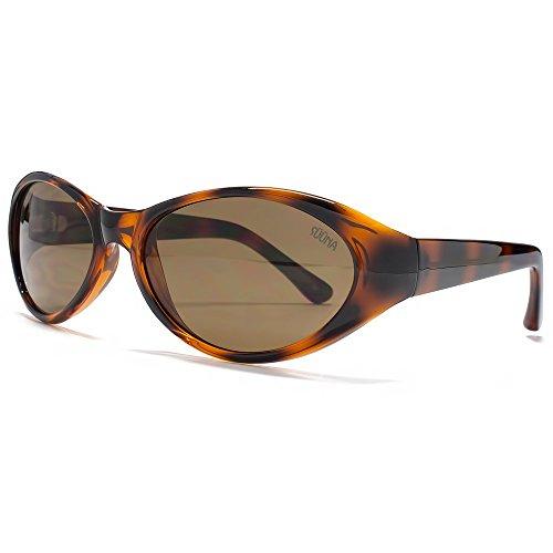 SUUNA Emily Oval Wrap Sonnenbrillen in Schildpatt SUU107