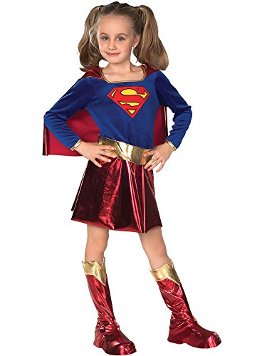 DC Super Heroes Child's Supergirl Costume, -