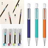 Monami 153 Neo Holder Mechanical Pencil 2.0mm 3ea+Lead Refills 4ea(HB,B,2B,4B)