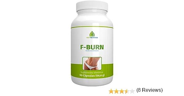 Green Nutrition - F-Burn (quemagrasas) - 90 cápsulas - 100 ...